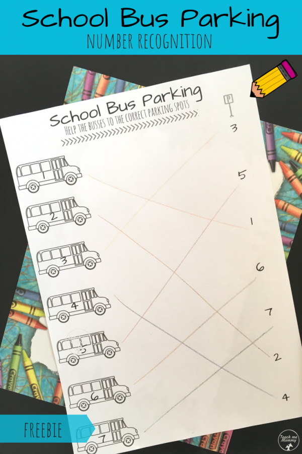 School bus park pin
