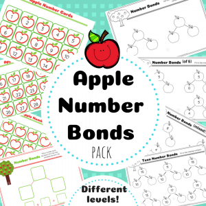 Apple Number Bonds TpT