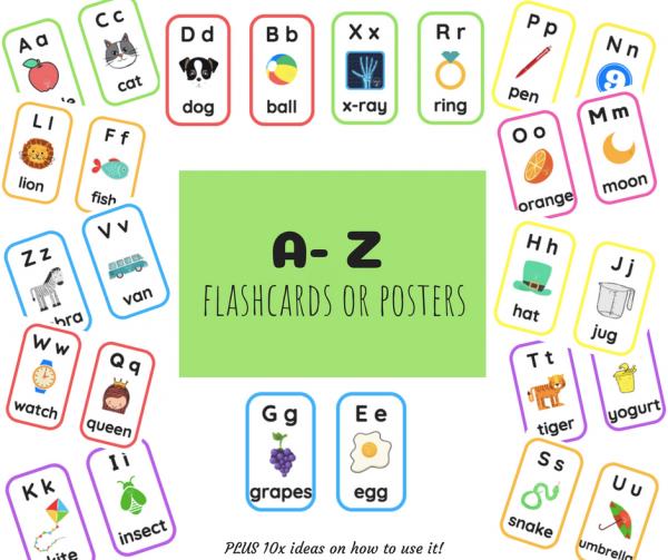 A-Z Flashcards