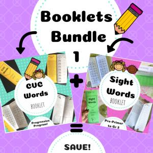 booklets bundle TpT