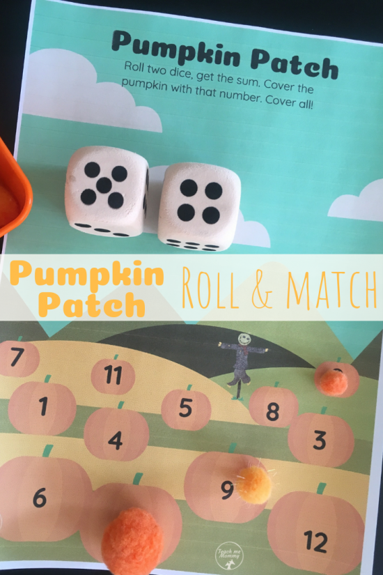 pumpkin patch roll & cover