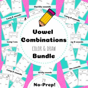 vowel combo bundle TpT