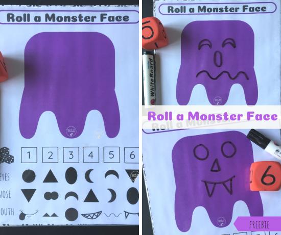 Monster face fb