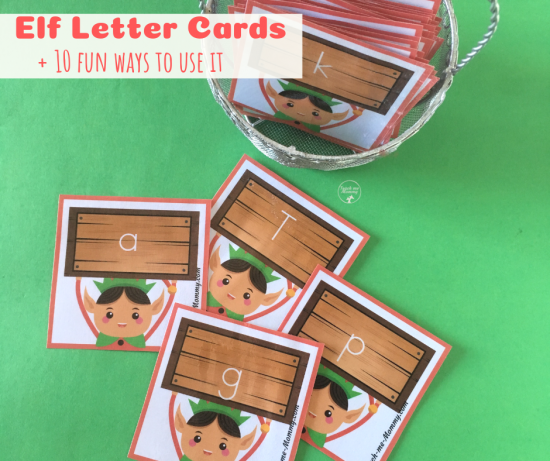Elf letter cards fb