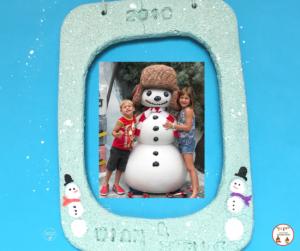 Snowman frame fb