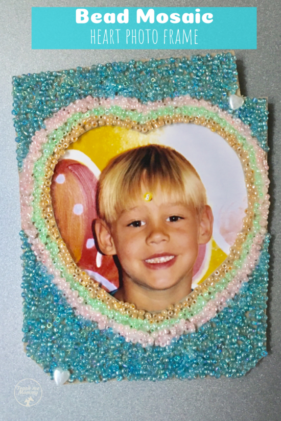 Bead Mosaic pin