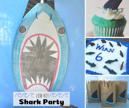 Shark party fb
